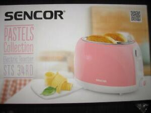 Sencor 2 Slice Electric Toaster. 4 in 1 Feature. Bagel Function. Thaw Pastry. Removable Crumb Tray. Defrost Frozen Bread