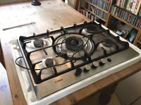 Bosch hob used and in good working condition. Missing a knob. Collection only