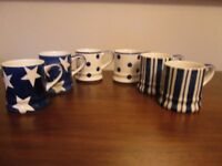 WHITTARD OF CHELSEA TEA CLIPPER ESPRESSO CUPS - Set of 6