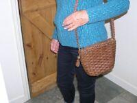 Ladies Leather Jaeger Shoulder Bag