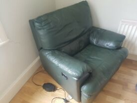 FREE leather arm chair, collection only