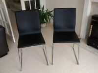 A Pair of Ikea Chairs