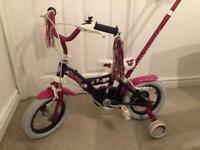 12 inch bike girls bike with detachable steering handle