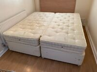 Super King Size Bed / Two Single Beds