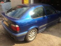 98 BMW E36 318Ti Compact M-SPORT Breaking Spare parts Repairs Salvage AVUS BLUE