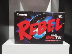 STORE SALE - CANON EOS REBEL T6I W/18-55 IS STM LENS Brand New In Box