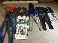 Bundle of boys clothing aged 3-6