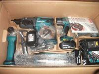 MAKITA DLX6021M 18V 4.0AH LI-ION LXT CORDLESS 6-PIECE KIT NEW STOCK