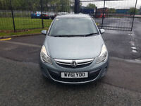 2011 VAUXHALL CORSA,1.2 S,85 BHP,12 MONTHS MOT,2 OWNERS,LOW MILEAGE,HPI CLEAR,CHEAP INSURANCE,P/X...