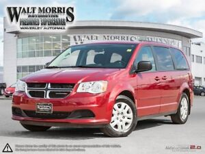 2016 Dodge Grand Caravan SXT: ONE OWNER, LOCAL VEHICLE, ACCIDENT