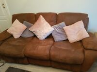 Rocking recliner arm chair and sofa - free