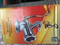 Manual Metal Meat Mincing Machine