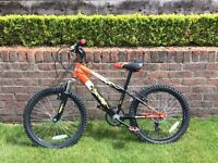 Ignite Charger Kids Mountain Bicycle. 7 speed. 20 inch wheels. Good condition. £219 new.