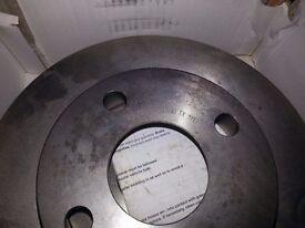 Genuine Textar Rear Brake Discs Corsa/Tigra RRP 69