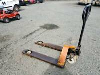 Pallet truck in good working order farm stables industrial unit building site