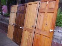 Internal Wood Panel Doors Free to Uplift