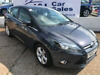 FORD FOCUS 1.6 ZETEC TDCI 5d 113 BHP A GREAT EXAMPLE INSIDE AND OUT (grey) 2013