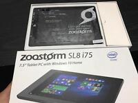 "Zoostorm 7 .5"" Tablet Windows 10 16GB 1GB Ram HDMI Bluetooth Laptop Like New"