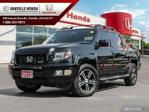 2013 Honda Ridgeline 1-Owner|Clean Carfax|Alloy Wheels|Low KMs