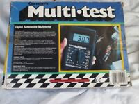 Gunson's Multi Test digital automotive multimeter