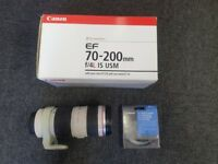Canon EF 70-200mm f/4L IS USM lens L DSLR Camera not Sony Fuji Nikon