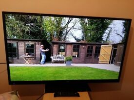 """Great condition 50"""" JVC LED TV full hd ready 1080p, freeview inbuilt"""