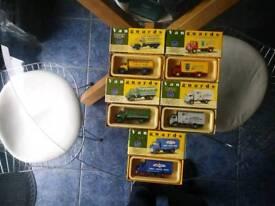 Vanguards lorries