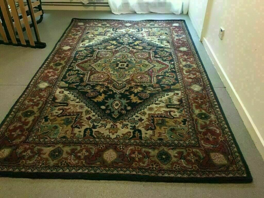 Large Persian Rug Deep Pile Wool Rug Size 243cm X 153cm Vgc In Islington London Gumtree
