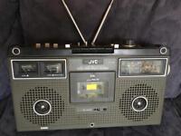 JVC Retro Radio Cassette player & Recorder