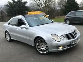 MERCEDES E320 CDI SPORT AUTOMATIC (FULL GLASS PAN ROOF)