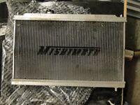 HONDA INTEGRA TYPE R DC2 B18C MISHIMOTO RADIATOR k20 b16a vtec eg6 ek9 ef9