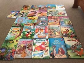 Disney books plus book holders