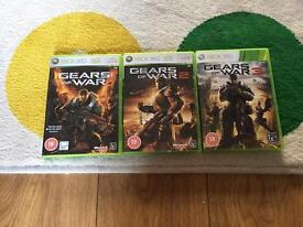 Gears of War 1, 2 & 3 (XBox 360)