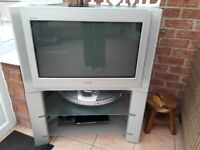 Sony Trinitron TV with built in Stand