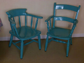 Two Farmhouse Style Chairs