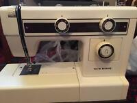 New home sewing machine fully working