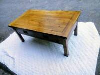 Solid Oak Coffee Table from Oak Furniture Land