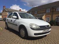 Vauxhall corsa 02 reg White for sale, NO golf, polo, Nissan micra, Renault, Mazda, Toyota Yaris