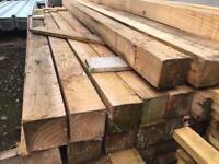 ☃️New Wooden Posts ~ £6.50