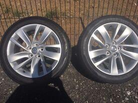 "18"" Vauxhall Insignia Alloy Wheels & Tyres"