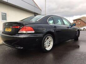 BMW 730 Li SE AUTO LPG conversion 2004 (54) in Black