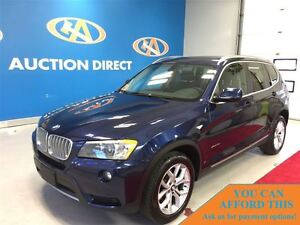 2013 BMW X3 xDrive28i, PANO ROOF, BLUETOOTH, HEATED SEATS, FIN
