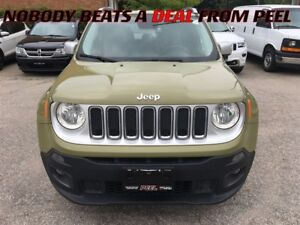 2015 Jeep Renegade Limited**NAV**REMOTE START**HEATED SEATS/WHEE