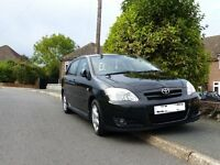 Black Toyota Corolla, Great runner, Mot February, clean throughout. 88,000 miles, good tyres. CD.