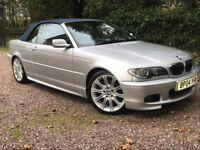 2004 BMW 330CI SPORT CONVERTIBLE 66K STUNNING !!
