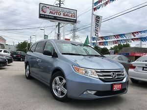 2011 Honda Odyssey Touring 8 Pass Fully Loaded No Accidents