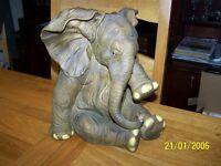 Model elephant ornament