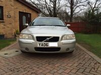 Volvo S60 SE D5 185bhp, Silver, Black Leather, Just Serviced and MoT'd to Feb 2018.