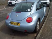 volkswagon beetle its a 2003 its moted till oct £700 o n o