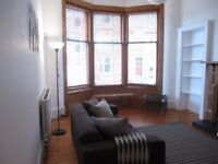 Very attractive, part furnished 1 bedroom flat in traditional red sandstone tenement,great location